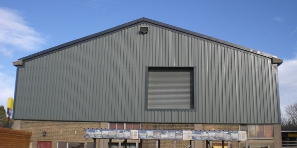 industrial roofing cladding